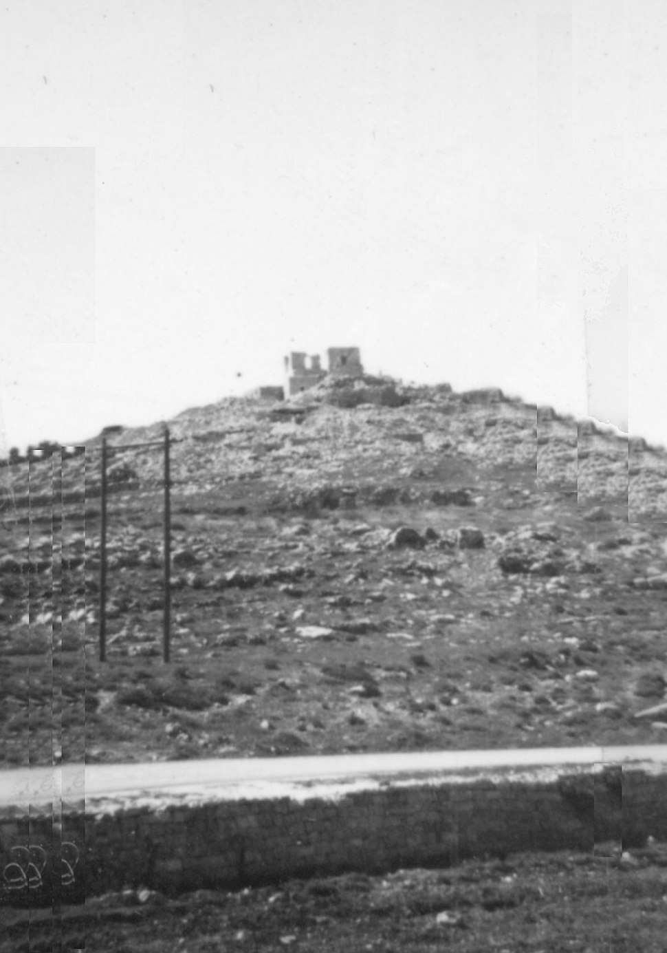Castel road 1955