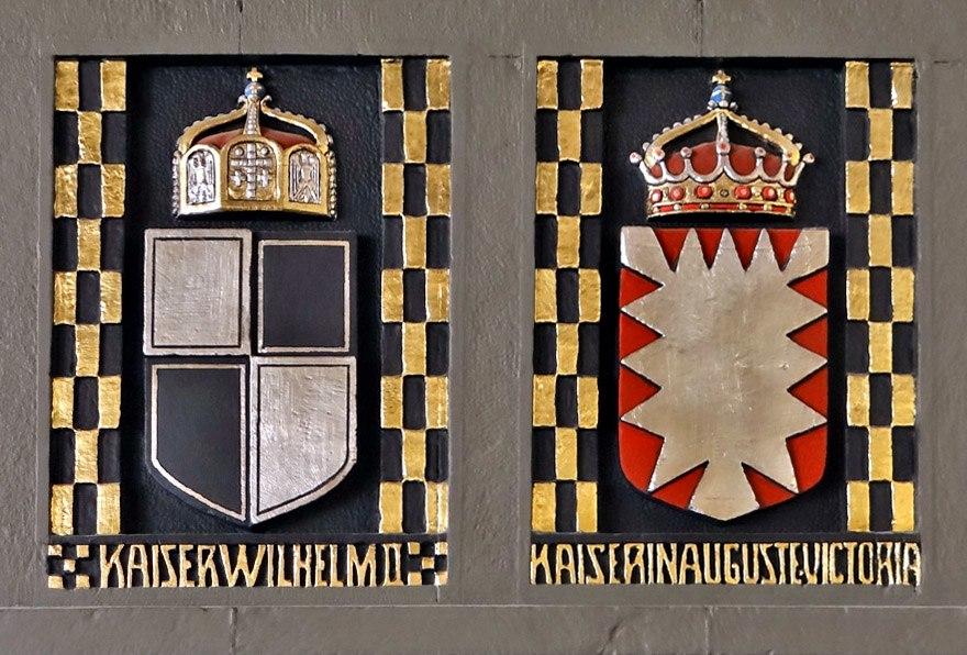 Wilhelm 2 Coat of Arm