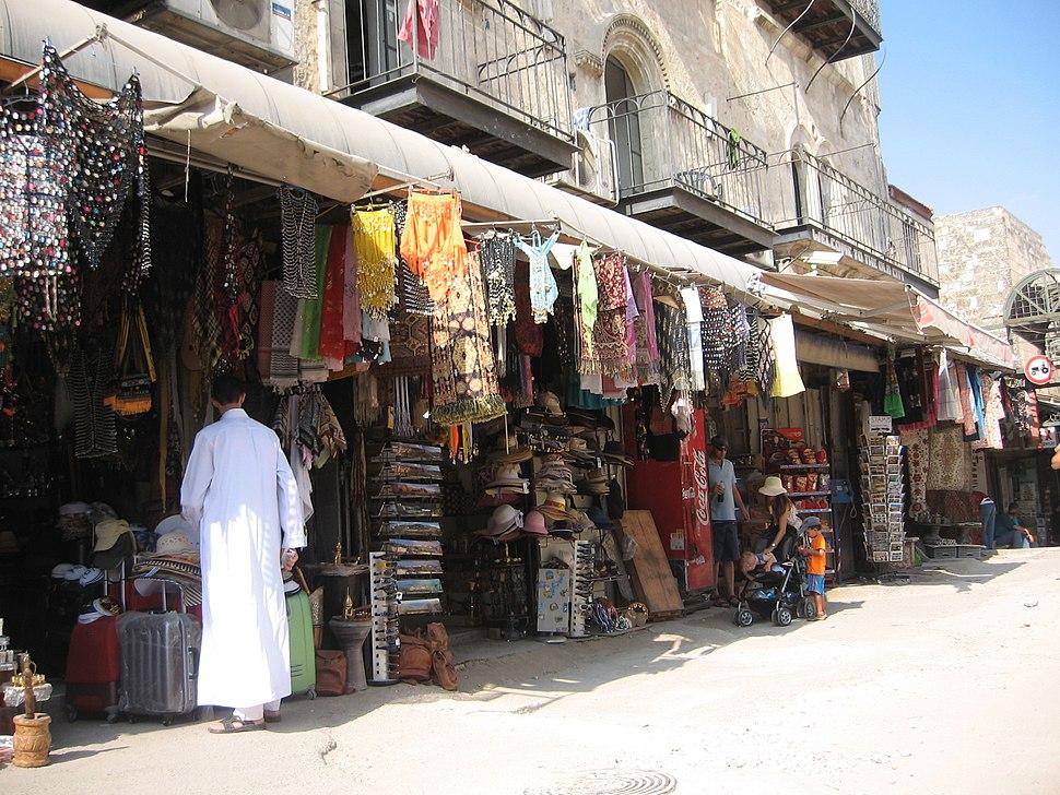 השוק ברובע המוסלמי 101