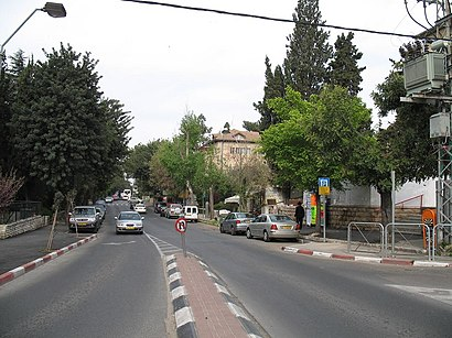 How to get to רחביה with public transit - About the place