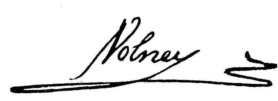 Volney signature