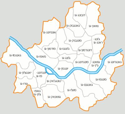שכונות העיר סיאול