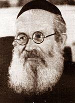 הרב יצחק אייזיק הלוי הרצוג, 1945