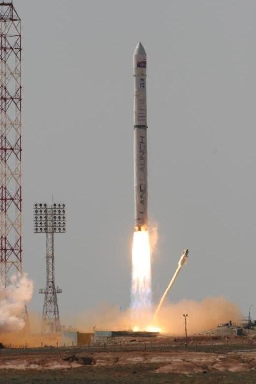 Amos 3 launch