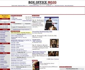 Box Office Mojo screenshot