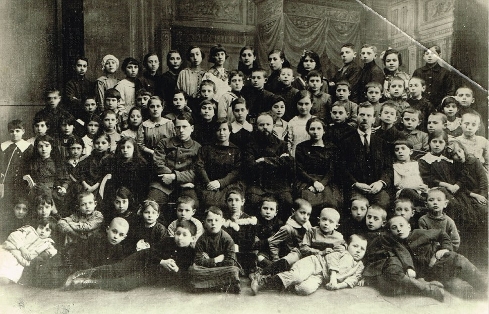 Tarbut school, Moscow 1918