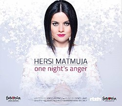 One Night's Anger - Hersi - promotional single cover.jpg