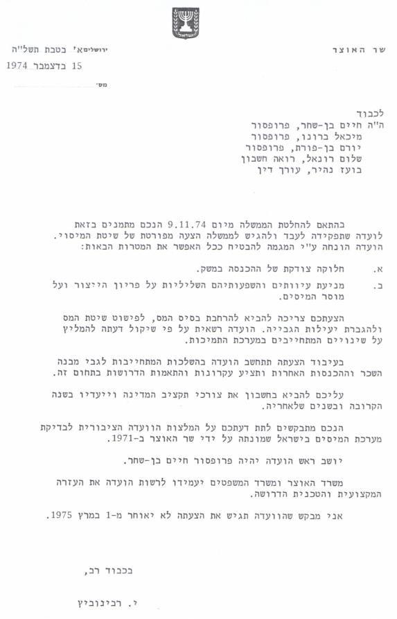 Ben shachar committee