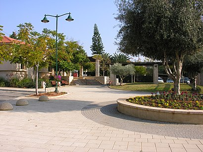 How to get to 'כפר נטר א with public transit - About the place
