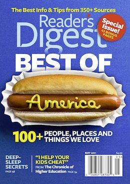 Reader's Digest cover, May 2011.jpg