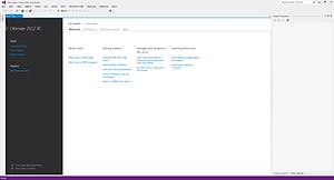 Visual Studio 11 StartPageScreenShot.jpg