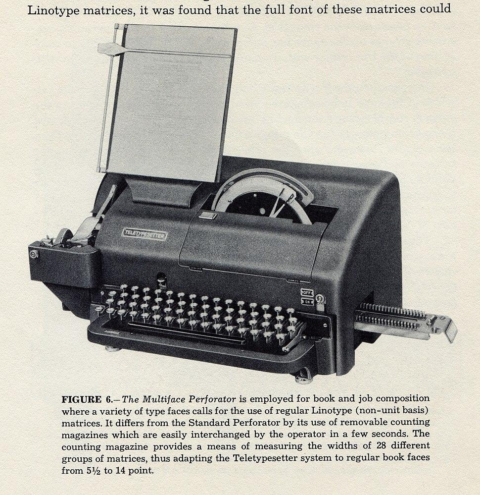 Linotype-handbook-for-teletypesetter-operation-1951-hms-1200rgb-020-multiface-perforator-2048x