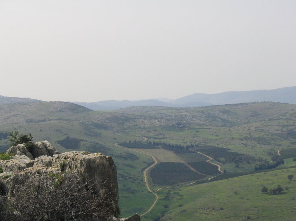 View from Arbel Cliff