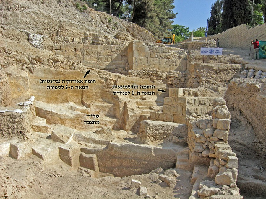 Mt Zion excavations