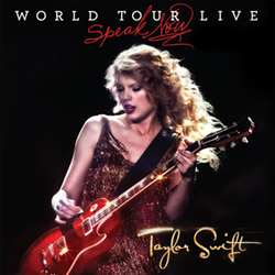 Taylor Swift - Speak Now World Tour - Live Album Cover.png