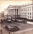 Wagons and supplies parked on F street.jpg
