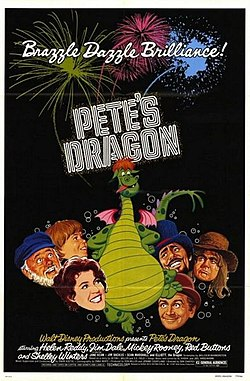 394px-Petes Dragon movie poster.jpg