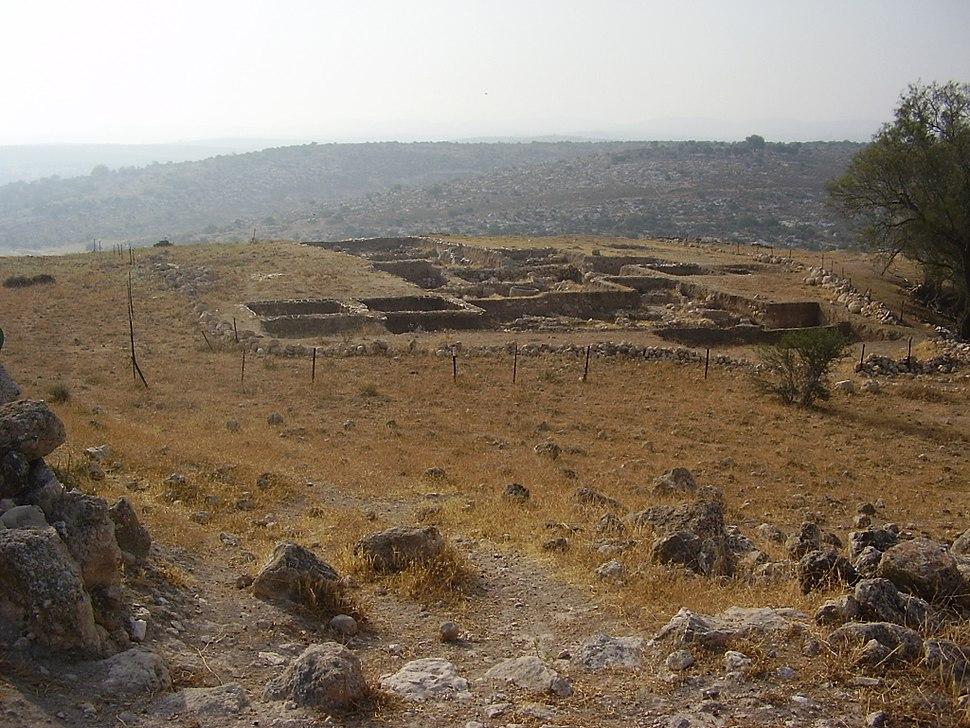 חפירות ארכאולוגיות בתל צפית