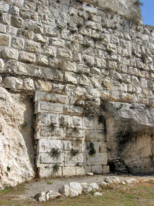 Jerusalem wall layers