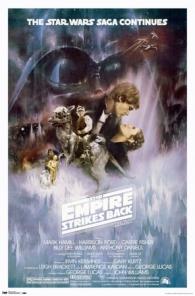 Plakat filma zvjezdani ratovi - epizoda v: carstvo uzvraća udarac