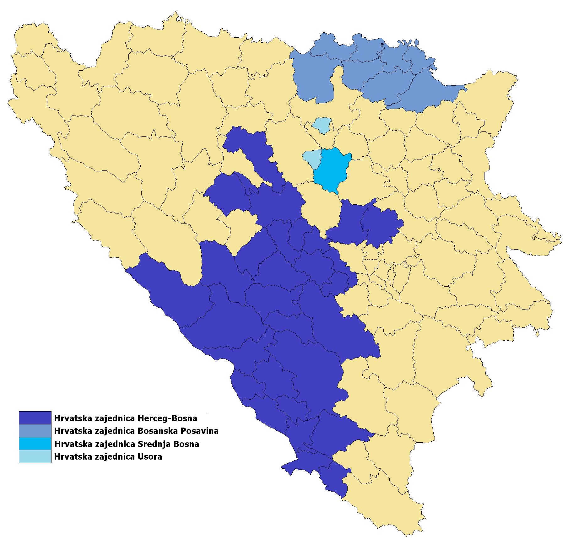 Hrvatska Republika Herceg Bosna Wikipedija