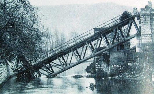 Zeljeznicki most preko Rjecine 1920 s022