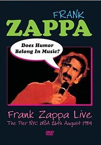 Does Humor Belong in Music DVD.JPG