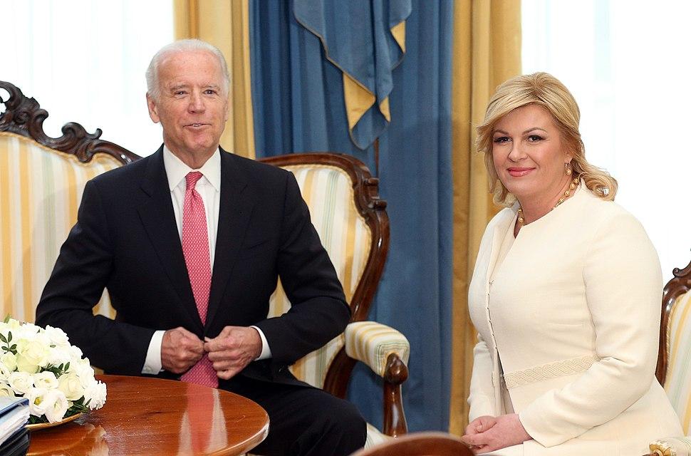 Kolinda Grabar Kitarović razgovarala s Bidenom H20151125000402