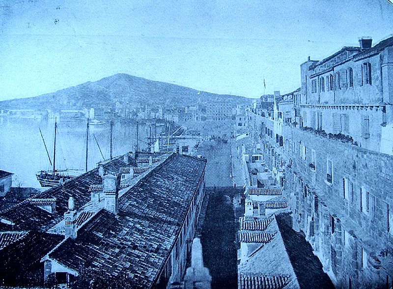 Datoteka:Split Croatia 19th century.jpg