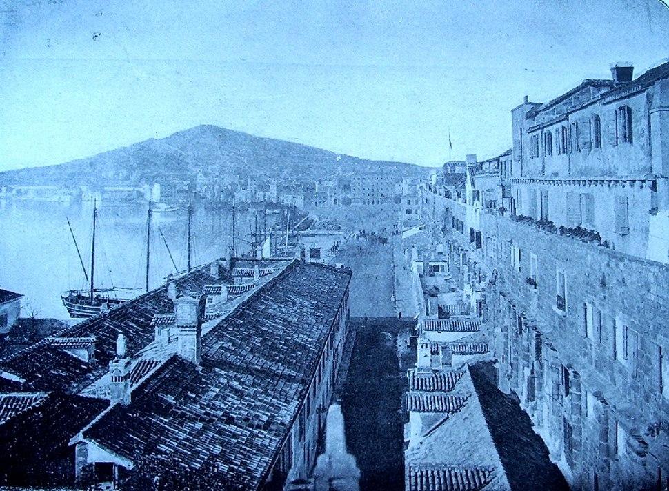 Split Croatia 19th century