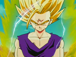 Son Gohan (SSJ2) a Dragon Ball Z című animében