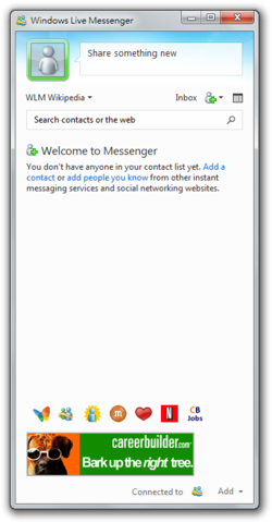 A Windows Live Messenger 2011-es változata
