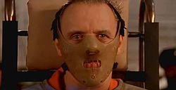Anthony Hopkins dr. Hannibal Lecter szerepében