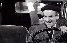 Maurice (Louis de Funès) és egyik utasa a film elején a341aa2780