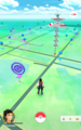 Pokémon Go - screenshot of map.png