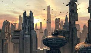 A Coruscant bolygó