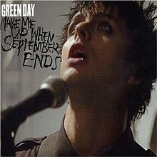 «Wake Me Up When September Ends» սինգլի շապիկը (Green Day, 2005)