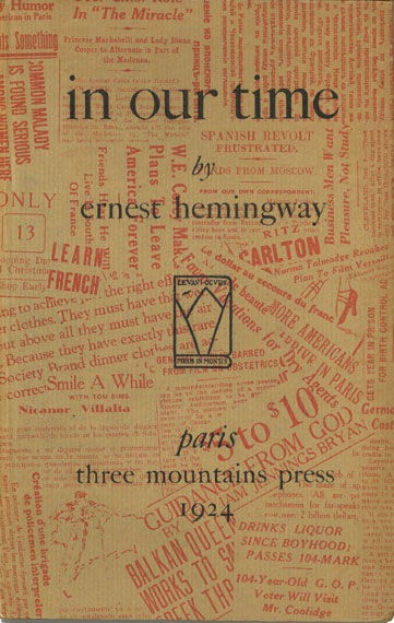 an analysis of ernest hemingways sexism in the short story collection in our time