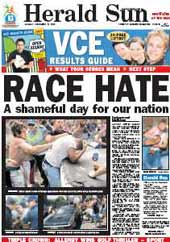 Herald Sun front page 12-12-2005.jpg