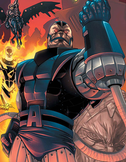 Apocalypse , digambarkan dalam komik x-men #183 (vol. 2, april 2006