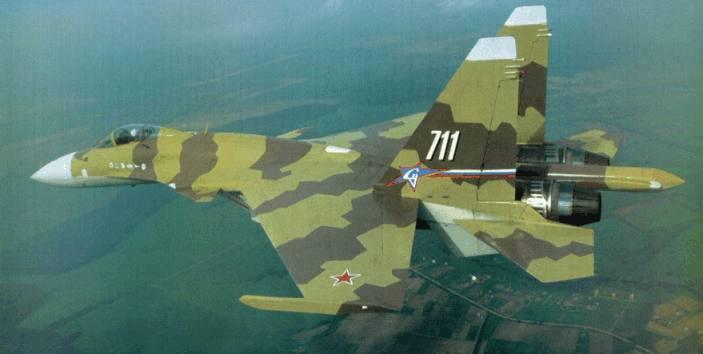 Sukhoi 37 Terminator Super Flanker Flanker F