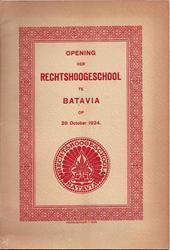 Booklet Pembukaan RH te Batavia [1]