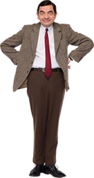 Rowan Atkinson as Mr bean.png