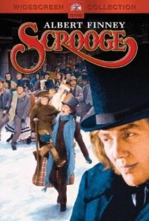 Promotional film poster for Scrooge .