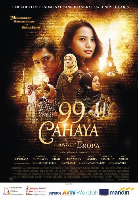 risky agus salim movies - 99 Cahaya Di Langit Eropa