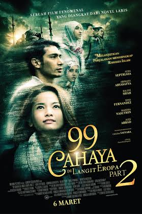 risky agus salim movies - 99 Cahaya Di Langit Eropa Part 2