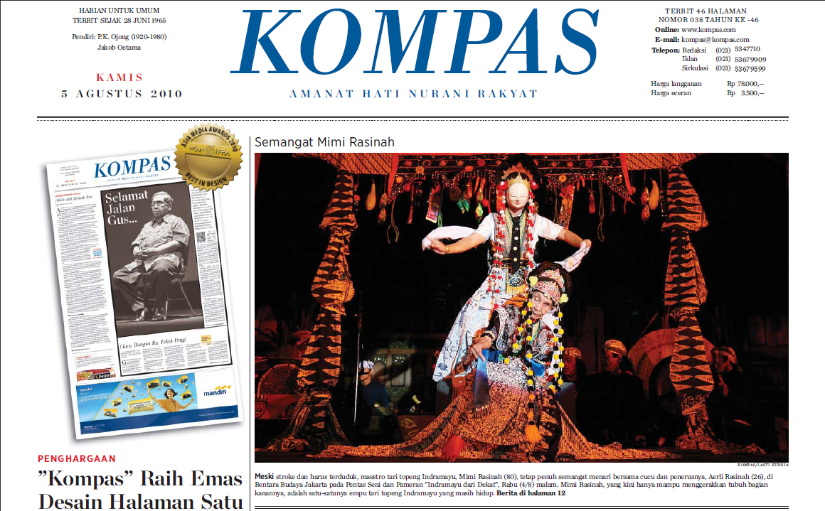 Kompas Surat Kabar Wikipedia Bahasa Indonesia Ensiklopedia Bebas