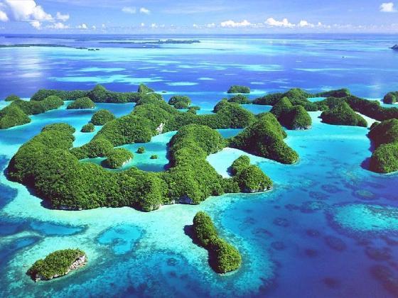 остров в тихом океане фото