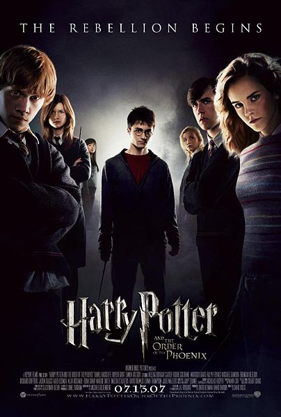 harry potter and the order of the phoenix  wikipedia