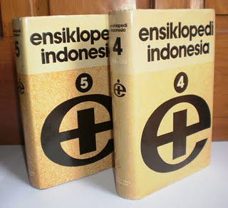 Ensiklopedi Indonesia yang terbit pada tahun 1983 oleh PT Ichtiar Baru Van Hoeve.